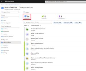 Azure Sentinel Data Connectors