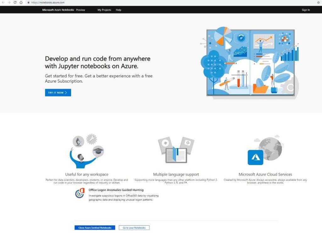 Azure Sentinel & Jupyter Notebooks